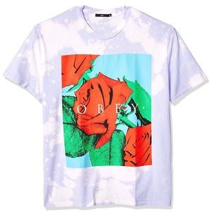 OBEY clothing roses oversized tee